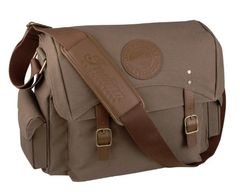 Luggage - WAXED COTTON MESSENGER BAG - 2868688