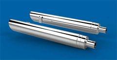 Exhaust Slip Ons -LLOYD'Z INDIAN CRUISER SLIP-ONS BAFFLED IMC-101