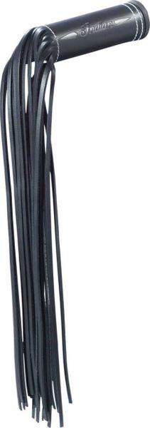 GENUINE LEATHER GRIP WRAPS BLACK W/FRINGE - 2879553-01