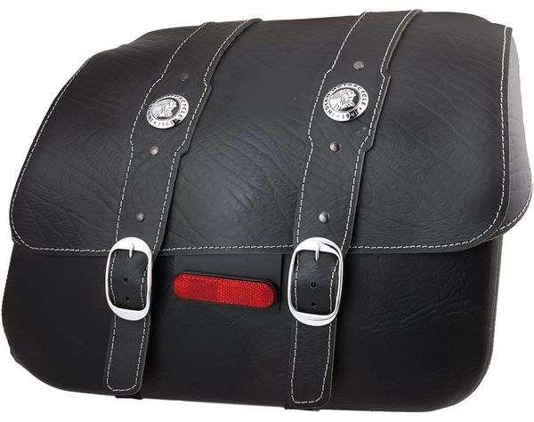 GENUINE LEATHER SADDLEBAG BLACK - 2880234-01