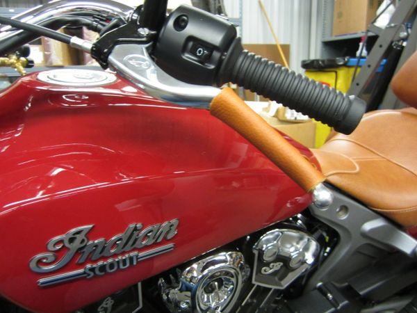Hand Controls - Leather Lever Wrap - No Fringe A-SL015