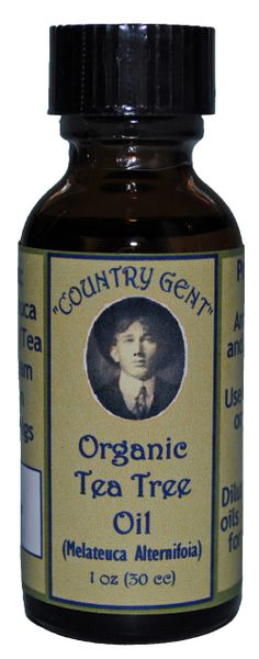 Tea Tree Oil, Organic, 1 oz