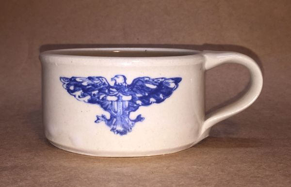 Shaving Mug, Ceramic Hand Crafted