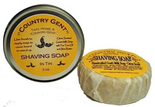 Shaving Soap in Tin, Goat's Milk
