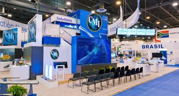 2 story trade show displays Houston, Double Deck Trade show displays Houston, Trade show LABOR
