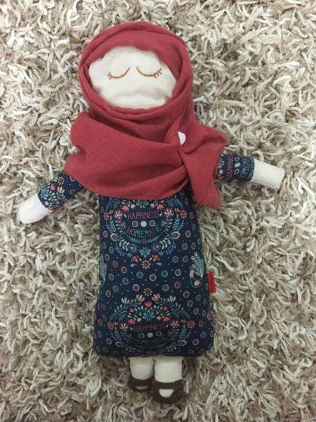 Muslim Doll Hand-sewn Muslim Doll Hijab Hijabi Doll Girls Eid Gift