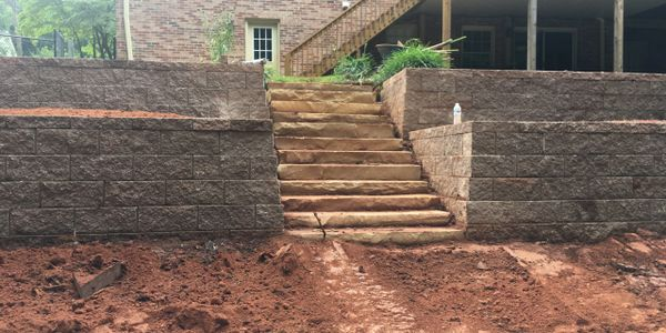 hardscapes retaining wall installer pavers installers ncma certified