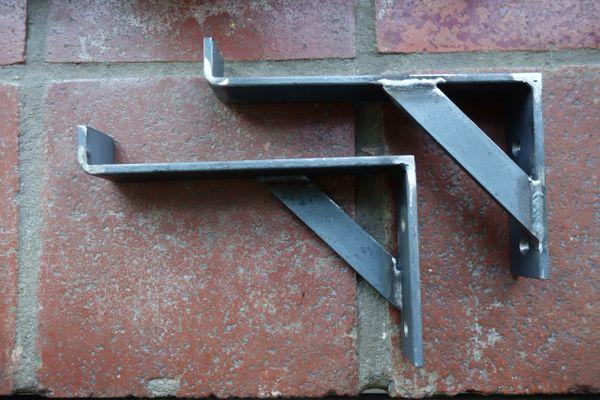 """1.5"""" Wide Heavy Duty Garage / Storage / Ladder Bracket"""