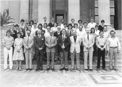 PSSA University of Witwatersrand inaugural meeting, 19 - 20 January 1983.