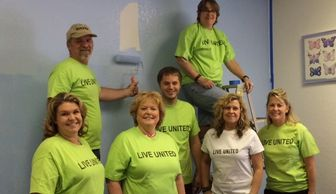 United Way Day of Action, Volunteer