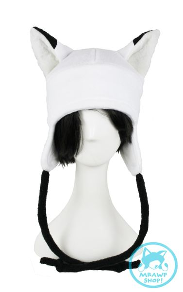 White Arctic Fox Hat