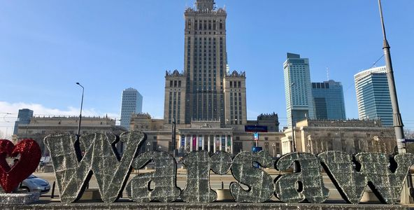 Palace of Culture & Science (PKiN), Warsaw, Poland
