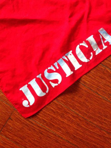 Justicia Bandana