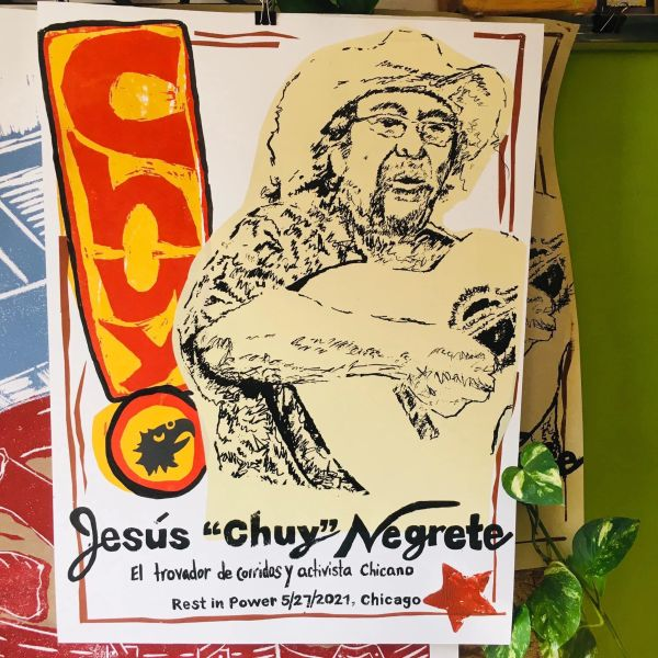 Jesus Chuy Negrete poster