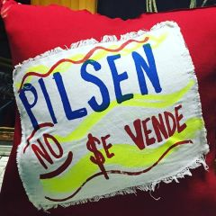 Pilsen No Se Vende Pillow