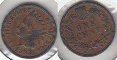 FULL SHARP LIBERTY 1894 INDIAN CENT TUFF GRADE