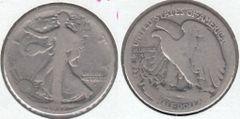 1917S OBV L. W. HALF DOLLAR