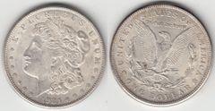 NICE FROSTY BU 1921S MORGAN DOLLAR