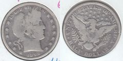1892 BARBER HALF DOLLAR LOW MINTAGE FIRST YEAR