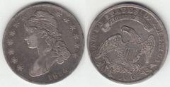 NICE XF 1834 BUST HALF DOLLAR