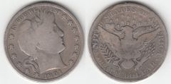 NICE 1901 BARBER HALF DOLLAR