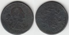 1802 LARGE CENT F-VF DETAIL