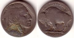 1921S BUFFALO NICKEL (SAVES ABOUT 50.00)