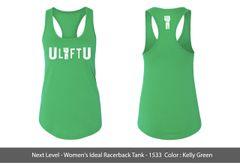 Women's UliftU racerback tank