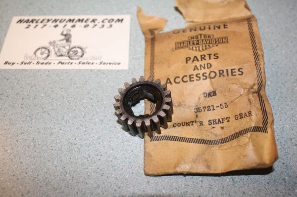 NOS 35721-55 Transmission Countershaft Gear