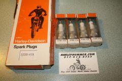 NOS Harley Davidson 32301-47A Spark Plug #4