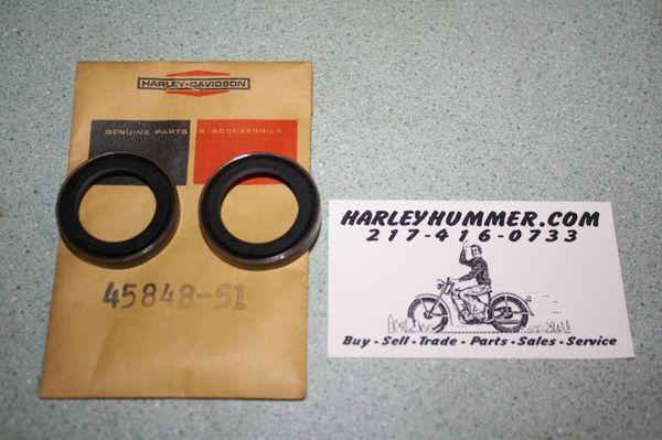 NOS 45848-51 Fork Seals 1 pair
