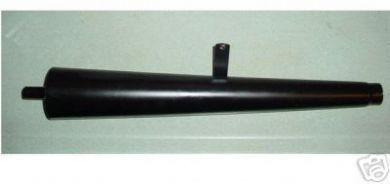 65237-63 Black Megaphone Muffler