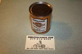 Harley Hummer Reproduction Oil Can