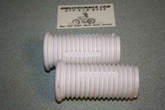 50940-61 White Footrest Rubbers