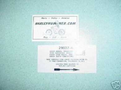 29037-61D Air Cleaner Decal