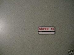 61778-60 Super-10 Decal