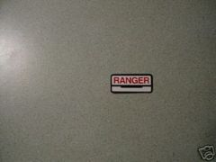 61783-62 Fuel Tank Decal Ranger