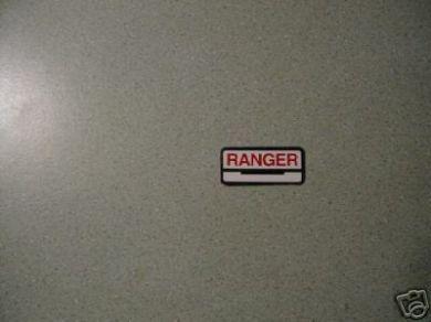 61783-62 Fuel Tank Decal Ranger