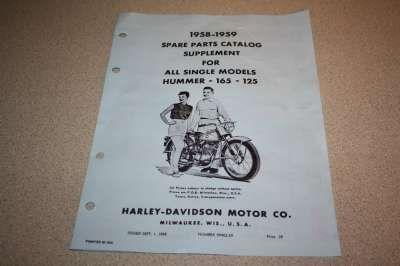 99452-59 Parts Catalog Supplement