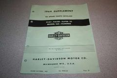99452-64 1964 Parts Catalog Supplement