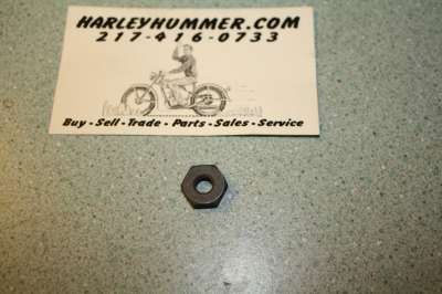 7689 Parkerized Hex Nut
