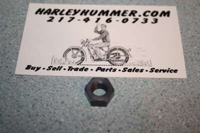 7752 Parkerized Hex Nut