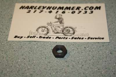 7691 Parkerized Hex Nut