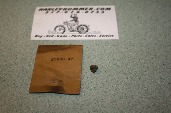 NOS 27582-47 Throttle Piston guide Screw