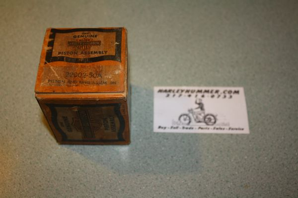 NOS 22002-50A Piston Assembly 125cc .005