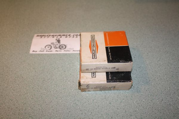 "NOS 22339-53 Piston ring Set .040"" Harley 165"