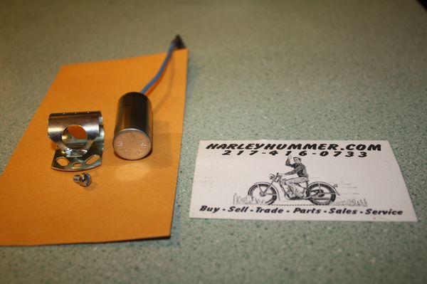 NOS 32726-30A Condenser Harley 165