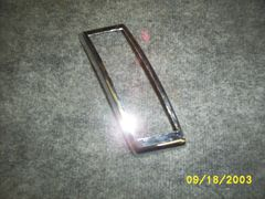 41-48 tail light bezel [L] [slant]