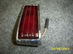 46-48 tail light complete [L]