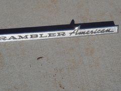 "Rambler American 16"" script"
